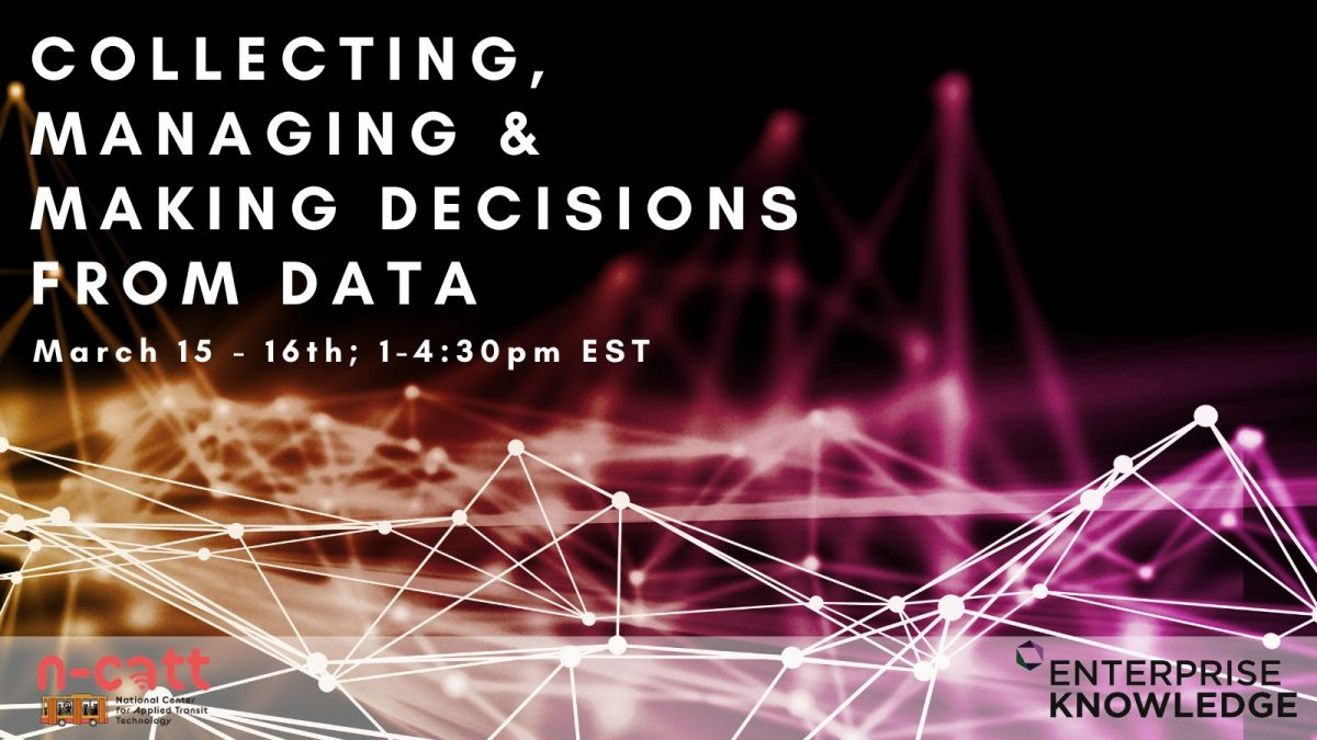 Data: Collecting, Managing, and Making Decisions